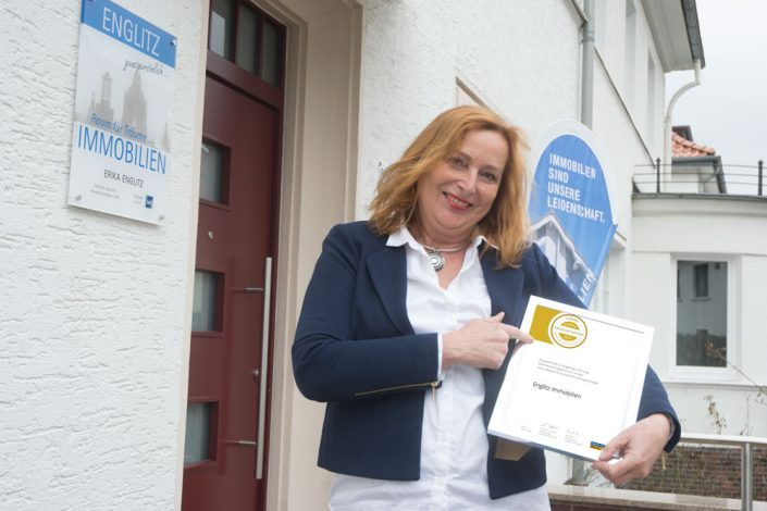 Auszeichnung vom Branchenportal - seit Jahren in Serie für Englitz Immobilien